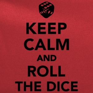 Keep calm and roll the dice Kids' Shirts - Computer Backpack