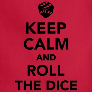 Keep calm and roll the dice Kids' Shirts - Adjustable Apron