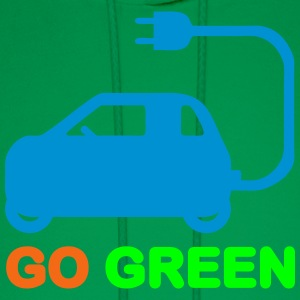 GO GREEN ~ DRIVE ELECTRIC VEHICLES Baby & Toddler  - Men's Hoodie