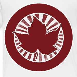 Canada day retro red maple leaf - Toddler Premium T-Shirt
