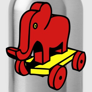 Elephant toy child baby T-Shirts - Water Bottle