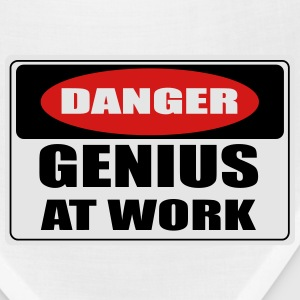 Danger! genius at work T-Shirts - Bandana