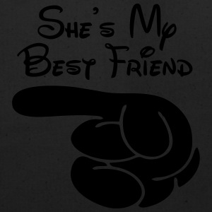 She's My Best Friend Women's T-Shirts - Eco-Friendly Cotton Tote