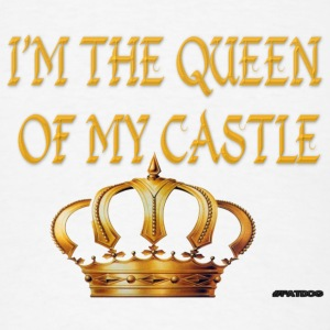 Queen of the Castle Caps - Men's T-Shirt