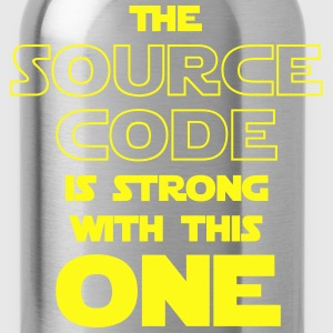 THE SOURCE CODE IS STRONG WITH THIS ONE Kids' Shirts - Water Bottle
