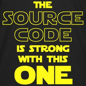 THE SOURCE CODE IS STRONG WITH THIS ONE Hoodies - Men's Premium Long Sleeve T-Shirt