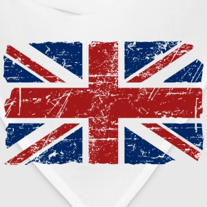 Union Jack Flag - Vintage Look Hoodies - Bandana