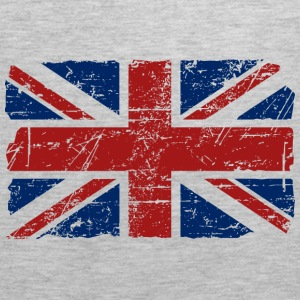 Union Jack Flag - Vintage Look Hoodies - Men's Premium Tank