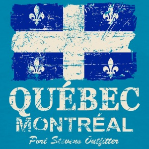 Quebec Flag - Vintage Look Tanks - Women's T-Shirt