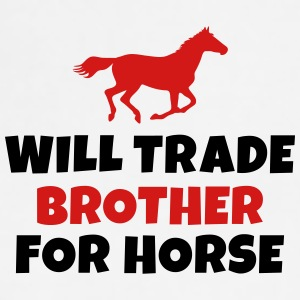 Will trade brother for horse Mugs & Drinkware - Adjustable Apron