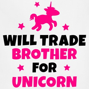 Will trade brother for unicorn Kids' Shirts - Adjustable Apron