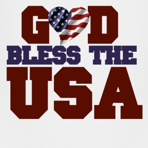 GOD bless the USA - Toddler Premium T-Shirt