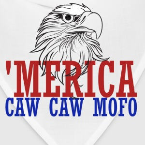 'merica caw caw eagle for 4th of july - Bandana