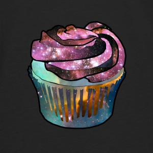 cupcake in space - Men's Premium Long Sleeve T-Shirt