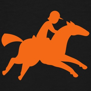 a horse and rider Kids' Shirts - Toddler Premium T-Shirt