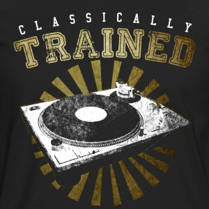 Classically trained DJ t-shirt  - Men's Premium Long Sleeve T-Shirt