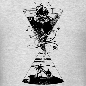 surreal hourglass -ocean and desert- Tank Tops - Men's T-Shirt