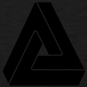 Impossible triangle Tank Tops - Men's T-Shirt