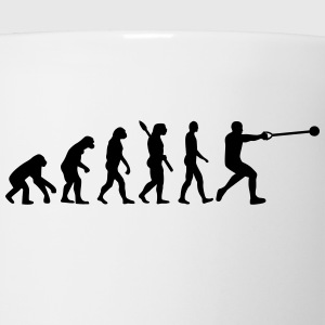Evolution Hammer throw T-Shirts - Coffee/Tea Mug
