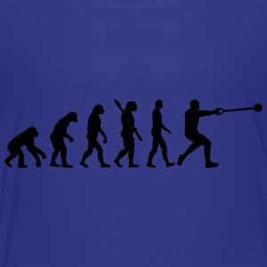 Evolution Hammer throw Kids' Shirts - Toddler Premium T-Shirt