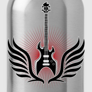 rock_and_roll_ebass_04201502 T-Shirts - Water Bottle