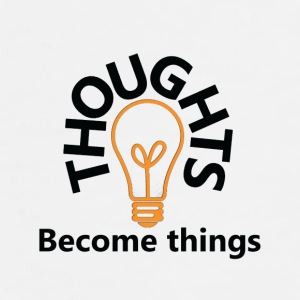 thoughts become things - Men's Premium T-Shirt