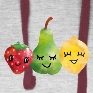 Fruit Friends Baby & Toddler Shirts - Colorblock Hoodie