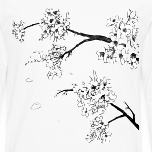 Cherry blossom tee - Men's Premium Long Sleeve T-Shirt