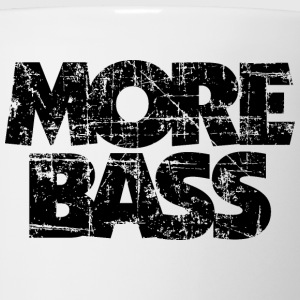 More Bass T-Shirt (White/Black Vintage) - Coffee/Tea Mug