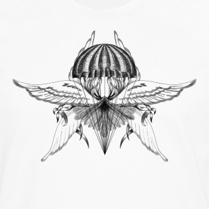 Emblem parachutist T-Shirts - Men's Premium Long Sleeve T-Shirt