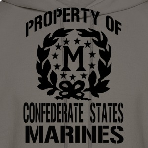 Property Confederate States Marines - Men's Hoodie