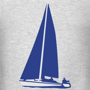Sailboat, sailing Long Sleeve Shirts - Men's T-Shirt