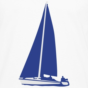 Sailboat, sailing Women's T-Shirts - Men's Premium Long Sleeve T-Shirt