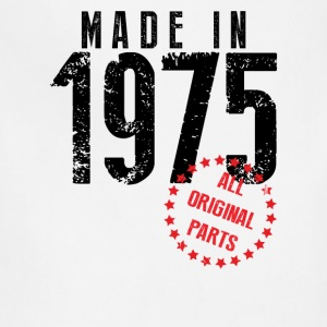 Made In 1975 All Original Parts T-Shirts - Adjustable Apron