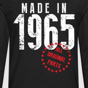 Made In 1965 All Original Parts T-Shirts - Men's Premium Long Sleeve T-Shirt