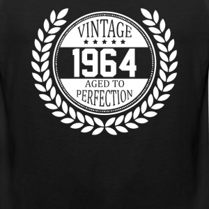 Vintage 1964 Aged To Perfection T-Shirts - Men's Premium Tank