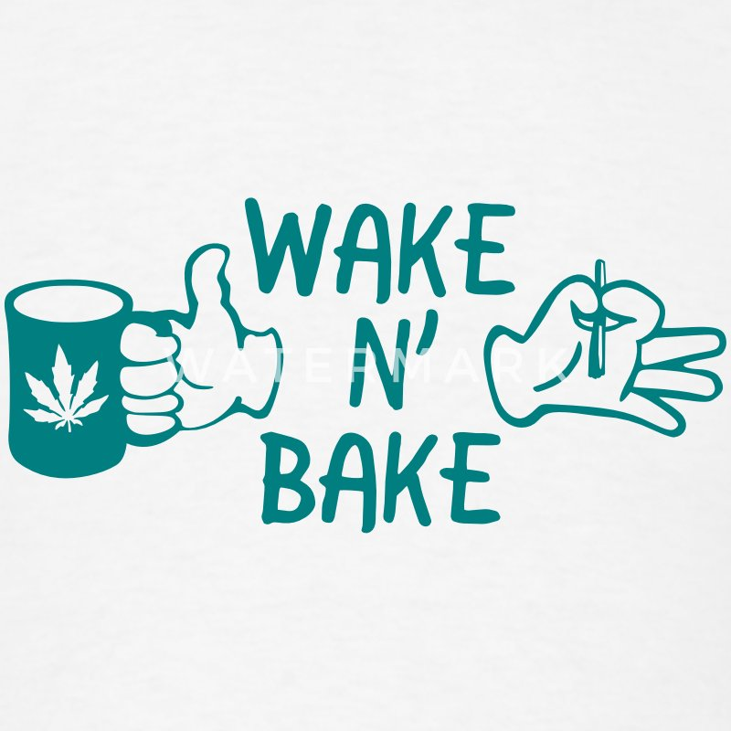 Wake N' Bake T-Shirts - Men's T-Shirt
