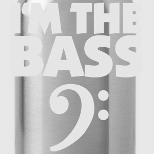 I'm the Bass T-Shirt (Clef/Black/White) - Water Bottle