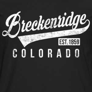 Breckenridge Colorado T-Shirts - Men's Premium Long Sleeve T-Shirt