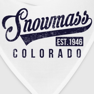 Snowmass Colorado Long Sleeve Shirts - Bandana