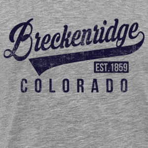Breckenridge Colorado Long Sleeve Shirts - Men's Premium T-Shirt