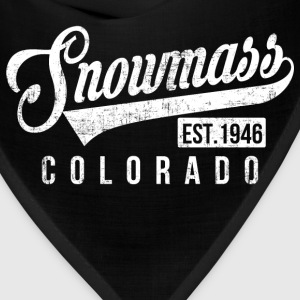 Snowmass Colorado T-Shirts - Bandana