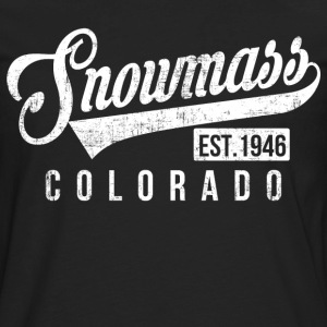 Snowmass Colorado T-Shirts - Men's Premium Long Sleeve T-Shirt