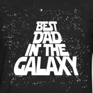 Best Dad in Galaxy T-Shirts - Men's Premium Long Sleeve T-Shirt