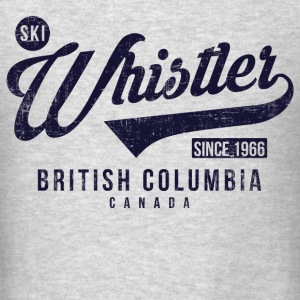 Whistler British Columbia Long Sleeve Shirts - Men's T-Shirt