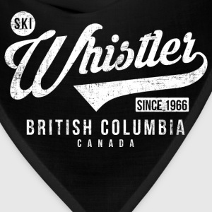 Whistler British Columbia T-Shirts - Bandana