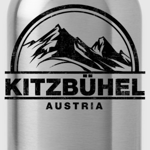 Kitzbühel Austria Long Sleeve Shirts - Water Bottle