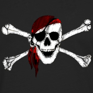 Pirate Skull and Crossbones - Men's Premium Long Sleeve T-Shirt