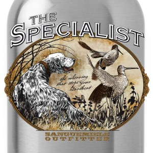 english setter specialist Women's T-Shirts - Water Bottle