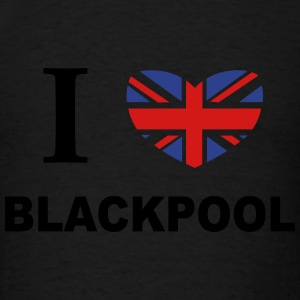 I Love Blackpool Hoodies - Men's T-Shirt